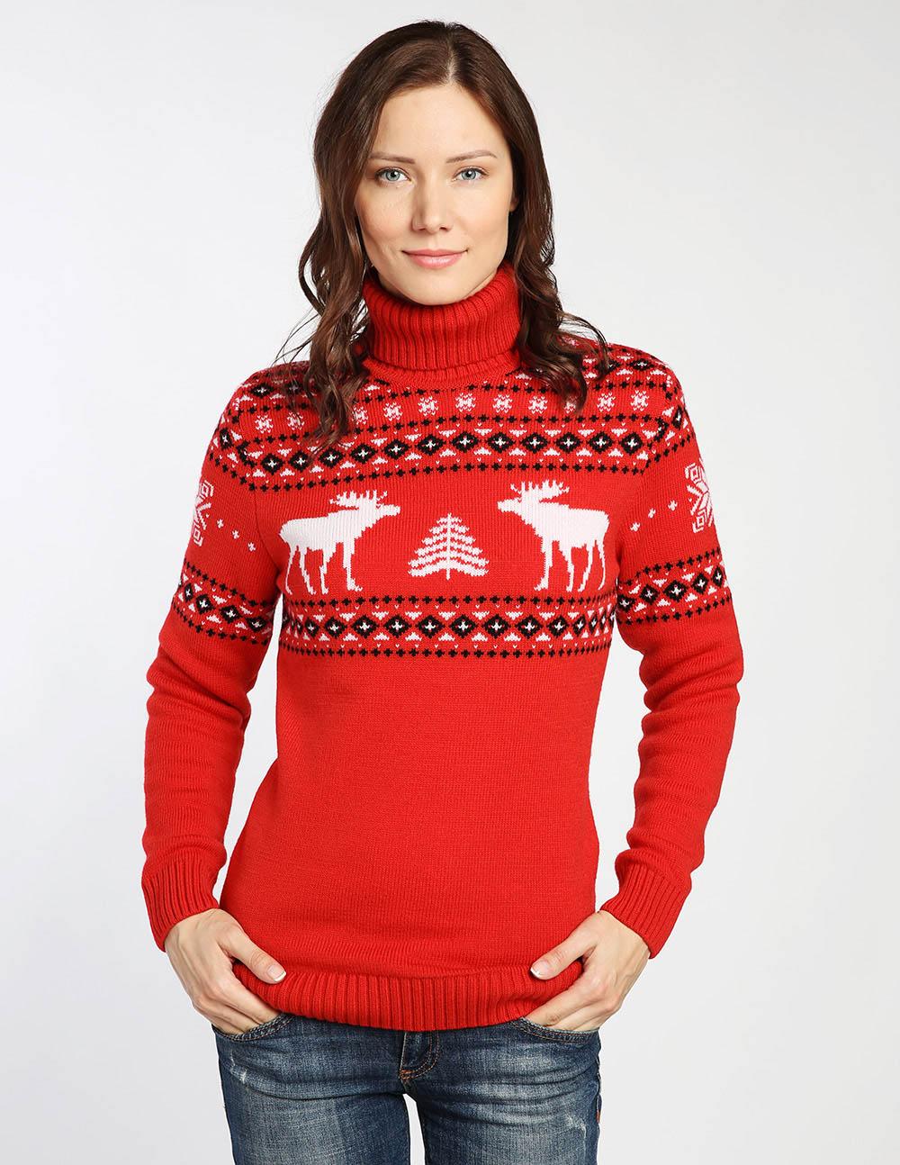 купить зимний свитер женский