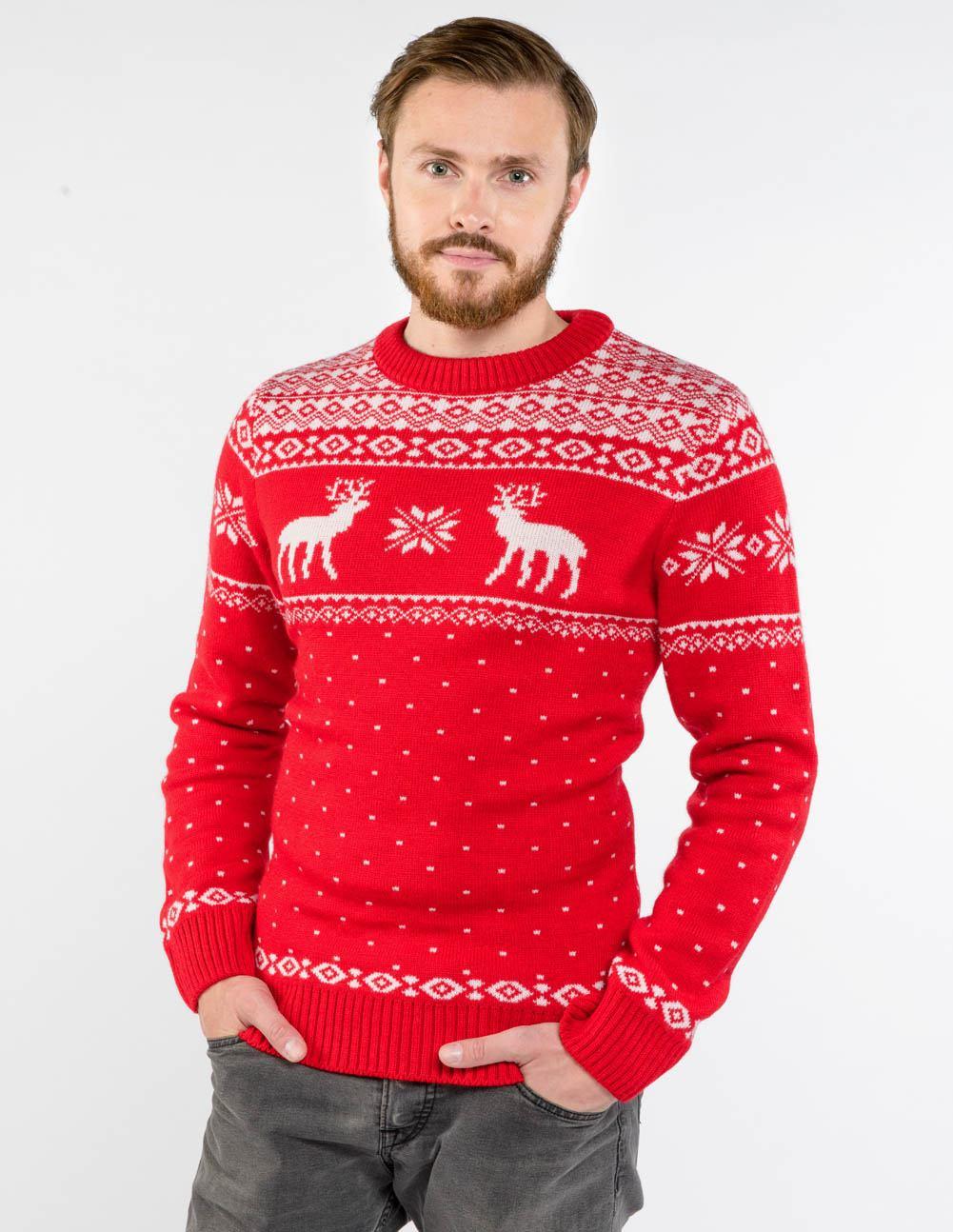 f08e07756f7 Купить мужские свитера с оленями по низким ценам в интернет-магазине ...