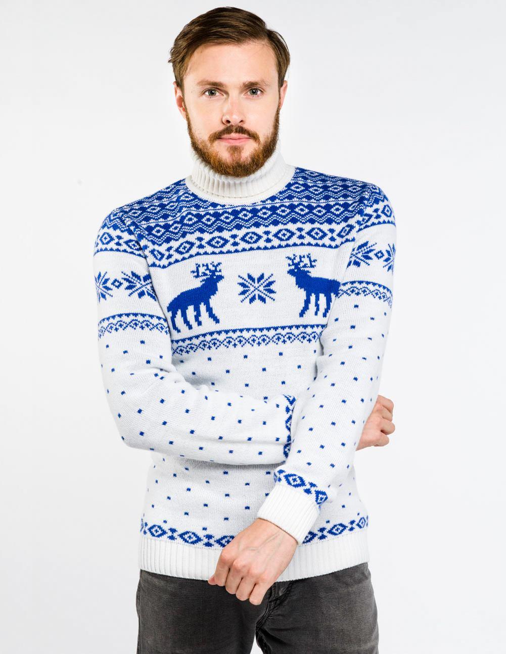72b20fdc3d70 Купить мужские свитера с оленями по низким ценам в интернет-магазине ...